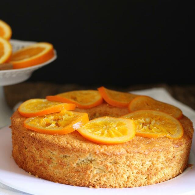 Chiffon arancia e cannella